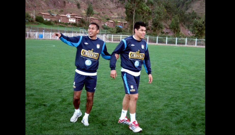 Sporting Cristal realiz&oacute; su primer entrenamiento en el Cusco (FOTOS)