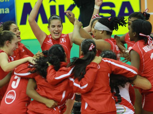 Per&uacute; campe&oacute;n del Sudamericano de V&oacute;ley Femenino de Menores