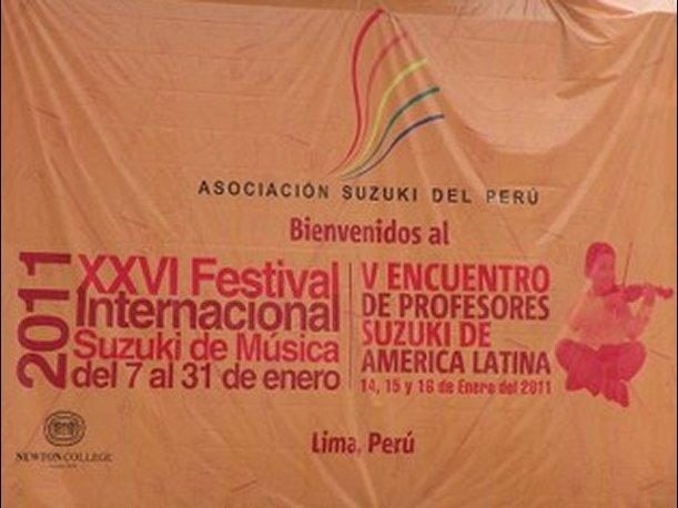 Festival musical reunir&aacute; en Lima a 600 ni&ntilde;os y 300 maestros latinoamericanos