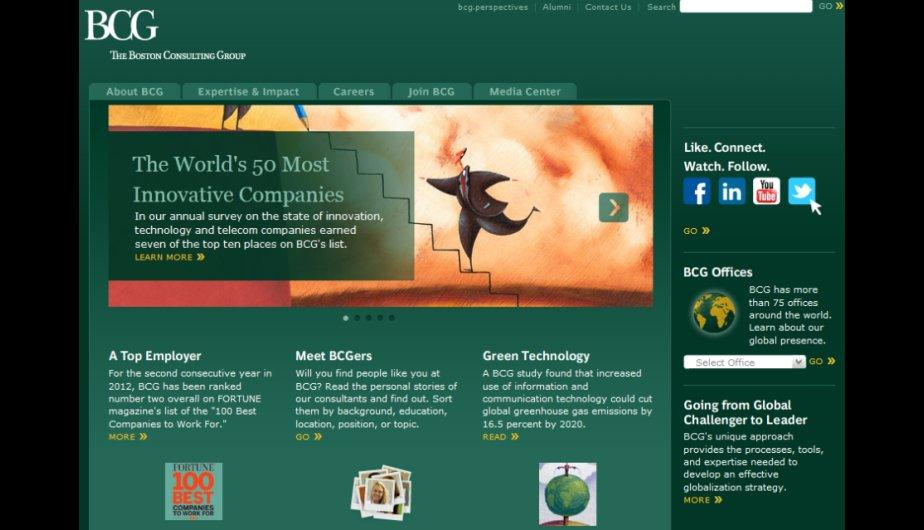 4.	The Boston Consulting Group. (Foto: Bcg.com)