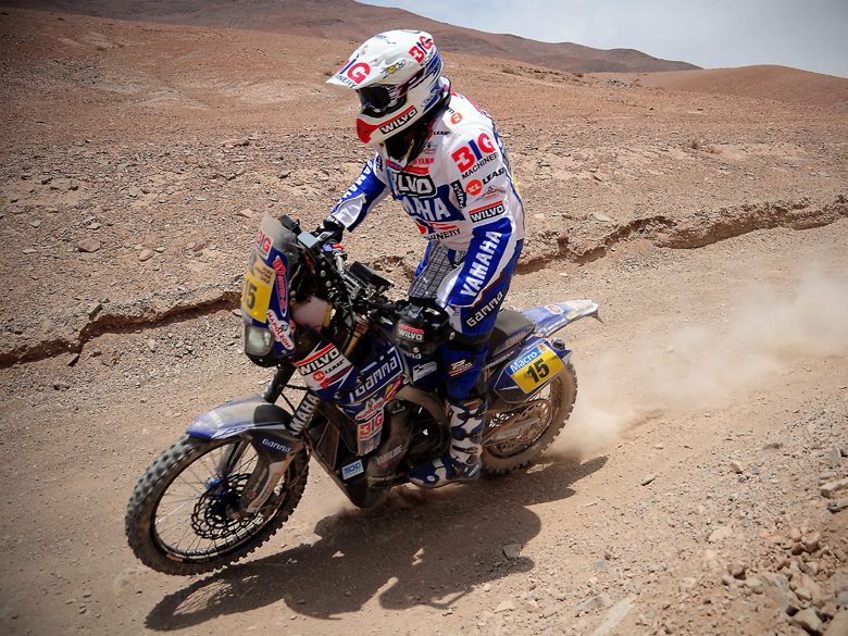 Frans Verhoeven gan&oacute; la duod&eacute;cima etapa del Rally Dakar 2013 en motos