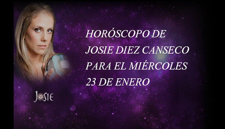 Hor&oacute;scopo de hoy, mi&eacute;rcoles 23 de enero, seg&uacute;n Josie Diez Canseco (FOTOS)