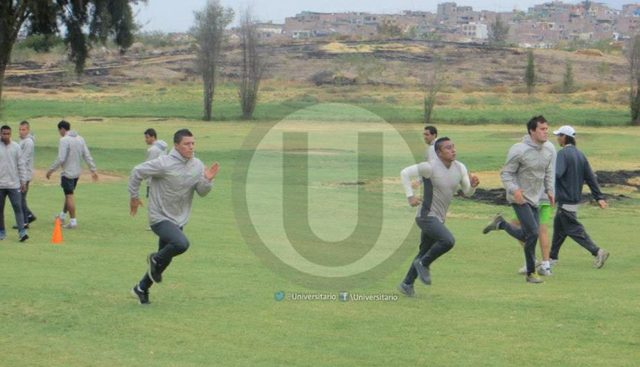 Universitario saca el m&aacute;ximo provecho a su pretemporada en Arequipa (FOTOS)