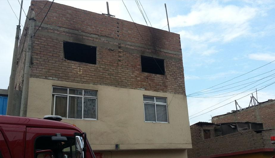 Chorrillos: Im&aacute;genes del incendio de inmueble donde murieron tres ni&ntilde;os (FOTOS)