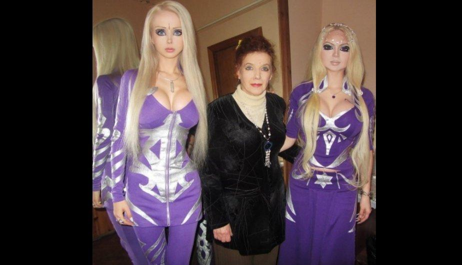 Valeria Lukyanova, la &ldquo;Barbie Humana&rdquo; mostr&oacute; im&aacute;genes de su familia (FOTOS)