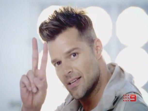 Ricky Martin brilla en el nuevo video de The Voice Australia (VIDEO)