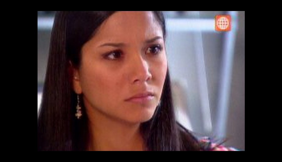 Grace se enoja con Nicolás. (Foto: Captura de TV)