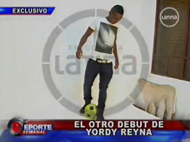 Yordy Reyna y su nueva faceta de modelo (VIDEO)
