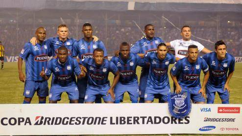 Emelec es invencible de local.(Foto: EFE)