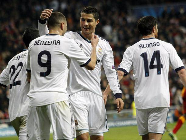 Real Madrid vs. Galatasaray: Mira los goles de Cristiano Ronaldo y Benzema (VIDEOS)