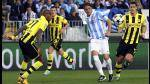 Champions League: Mlaga y Borussia Dortmund igualaron en La Rosaleda (FOTOS) - Noticias de mlaga cf
