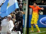 Lionel Messi invitó al Papa Francisco a asistir al Camp Nou