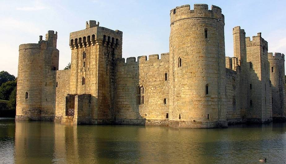 Bodiam Castle, East Sussex, Inglaterra. (Foto: Pijama Surf)