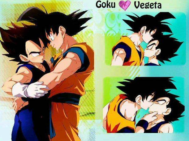 Dragon Ball Z  Revista Filtra Controvertida Imagen De Gok   Y Vegeta