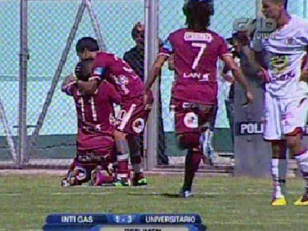 Inti Gas 1-3 Universitario: Resumen y goles de este duelo del Descentralizado (VIDEO)