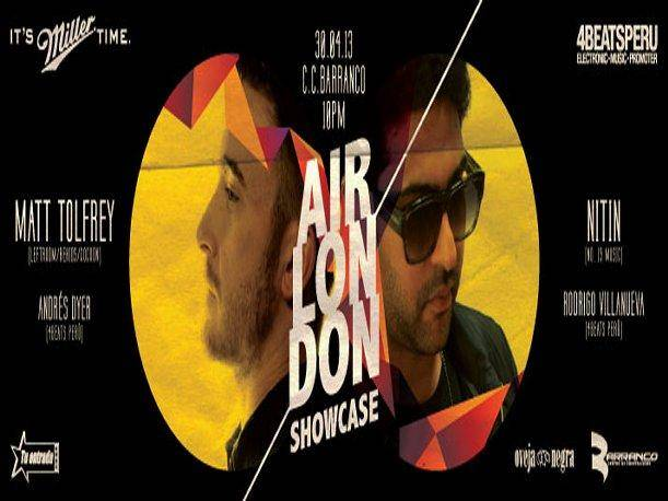 "4Beats presenta ""Air London Showcase"" este 30 de abril"