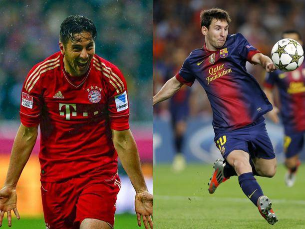 Champions League: ¿Cuántas veces se cruzaron Claudio Pizarro y Lionel Messi? (VIDEOS)