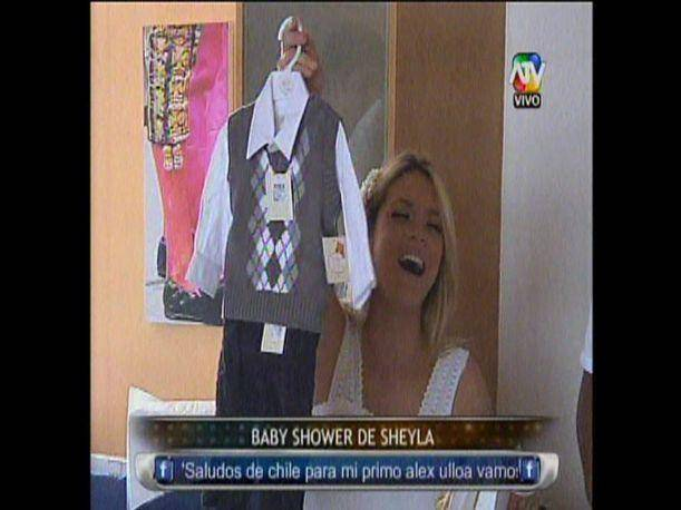 """Combate"": Sheyla Rojas celebró baby shower con excompañeros del reality (VIDEO)"
