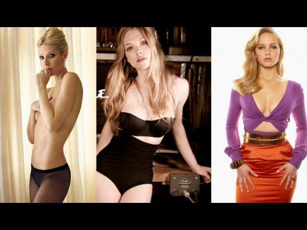 Gwyneth Paltrow, Amanda Seyfried y Jennifer Lawrence entre las mujeres más bellas