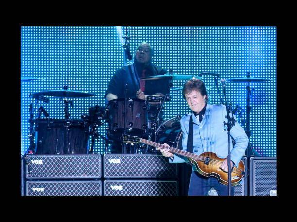 "Paul McCartney inicia gira mundial ""Out There"" en Brasil (FOTOS)"