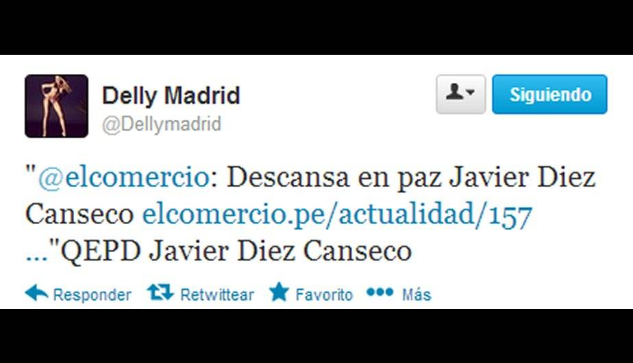 Delly Madrid. (Foto: Twitter)