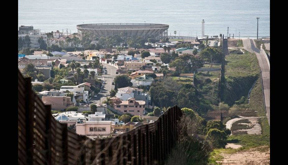 Hasta las de San Diego, California y Tijuana, Baja California, en el océano Pacífico. (Foto: U.S. Customs and Border)