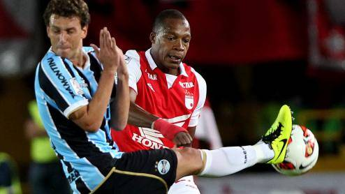Independiente de Santa Fe demostr ser ms que Gremio (Foto: EFE)