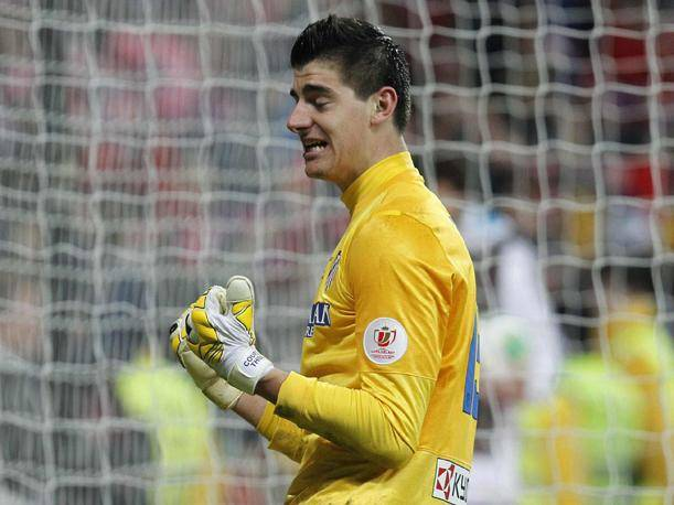 Atlético de Madrid: Courtois y su espectacular atajada ante el Real Madrid (VIDEO)