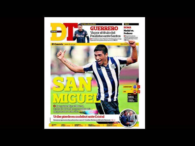 Kiosko Deportivo: Alianza Lima acapara las portadas (FOTOS)