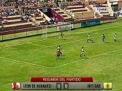 Descentralizado 2013: Resumen del León de Huánuco vs. Inti Gas (VIDEO)
