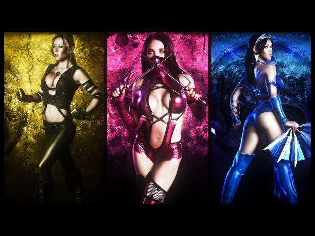 Sexies Cosplayers oficiales de Mortal Kombat (FOTOS)