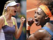 Roland Garros: Serena Williams y Maria Sharapova disputarán la corona