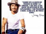 Johnny Depp y las frases memorables del actor a sus 50 años