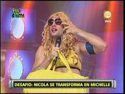"""Esto es guerra"": Nicola Porcella se transformó en Michelle Soifer (VIDEO)"
