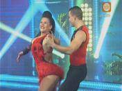 """El gran show"": Josetty Hurtado se lució al bailar salsa (VIDEO)"