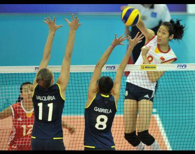 Mundial Juvenil de Vóley Femenino 2013: China se mete en la final al superar a Brasil