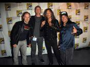 "Metallica presentó su primera película, ""Through the Never"", en Comic-Con (FOTOS)"