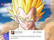 Dragon Ball Z Battle of Gods: Voz de Vegeta celebra su participación en la película
