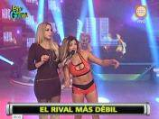 """Esto es guerra"": Michelle Soifer llama ""tramposa"" a Jazmín Pinedo (VIDEO)"