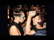 "Lady Gaga aparece con maquillaje de ""Applause"" en show de drag queens (FOTOS)"