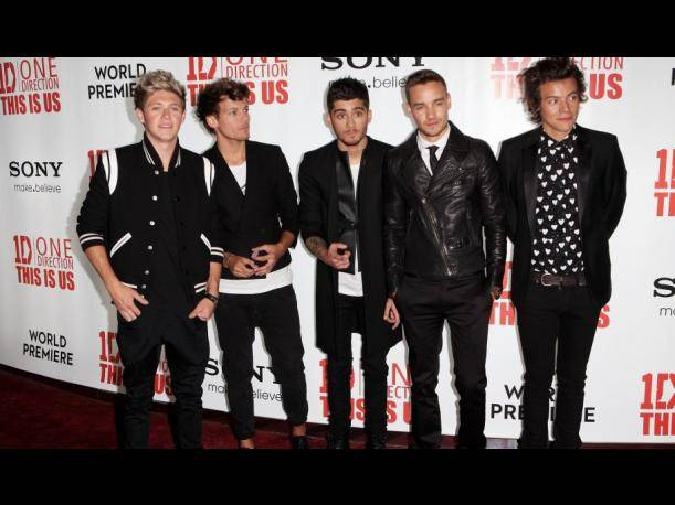 "One Direction brilla en premiere de ""This is us"" en Londres (FOTOS)"