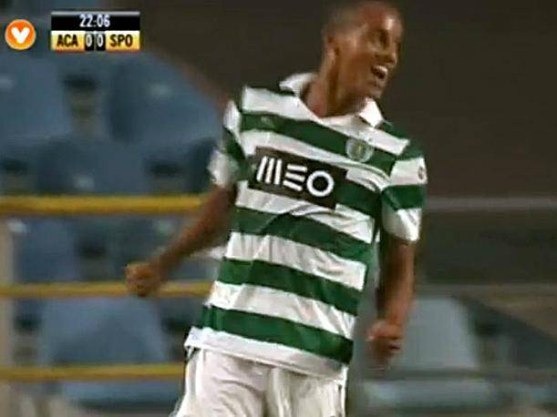Mira el gol de André Carrillo con Sporting Lisboa ante Académica (VIDEO)