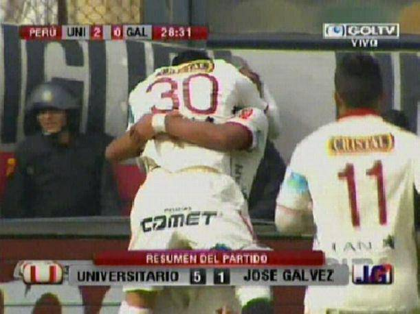 Descentralizado 2013: Goles del Universitario vs. José Gálvez (VIDEO)