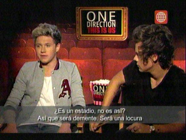 "One Direction sobre concierto en Perú: ""Será demente, una locura"" (VIDEO)"