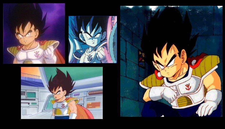 Dragon Ball Z: La evolución de Vegeta (FOTOS)