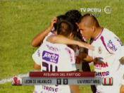 Descentralizado 2013: Gol del triunfo de León de Huánuco ante Universitario (VIDEO)