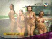"""Combate"": Mira el sexy car wash de las integrantes del Equipo Rojo (VIDEO)"