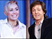 Paul McCartney defiende a Miley Cyrus y compara a los Beatles con One Direction (VIDEO)