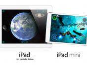 Apple presenta los nuevos iPad 5, iPad mini Retina y MacBook Pro