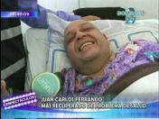 Juan Carlos Ferrando se muestra recuperado tras sufrir accidente cerebrovascular (VIDEO)